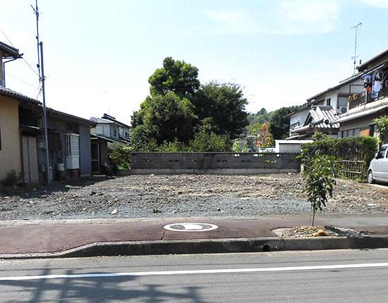 周智郡森町 木造家屋解体工事解体後